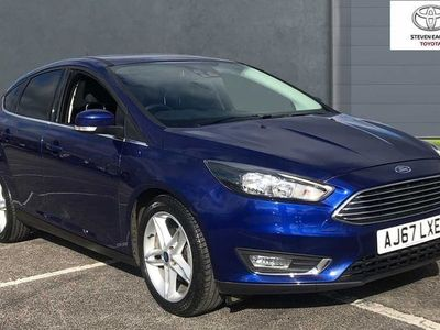 used Ford Focus 1.0T (125ps) Titanium EcoBoost (s/s) 5dr HB