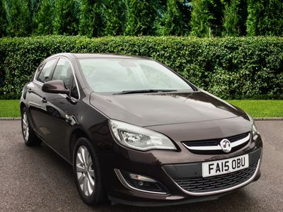 used Vauxhall Astra 5dr Hat 2.0 Elite Cdti S/S