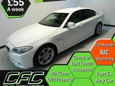 used BMW 520 5 Series 2.0TD d M Sport auto