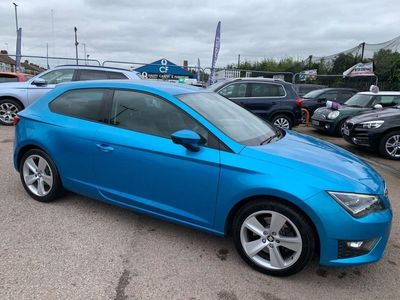 used Seat Leon 1.8 TSI FR (Tech Pack) SportCoupe (s/s) 3dr
