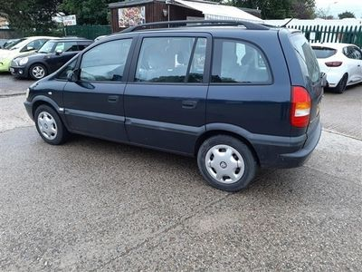 used Vauxhall Zafira 1.8i Comfort 5dr