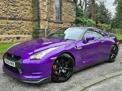 used Nissan GT-R Coupe 3.8 Black Edition (Sat Nav) 2d