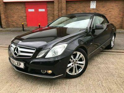 used Mercedes E220 E Class 2.1CDI BLUEEFFICIENCY SE 2d 170 BHP