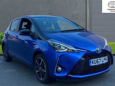 used Toyota Yaris 1.5 VVT-h Blue Bi-Tone E-CVT (s/s) 5dr