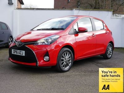 used Toyota Yaris 1.33 VVT-i Icon 5dr (Nav) 1 Owner 10000 Miles Only 30 Road Tax