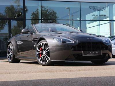 used Aston Martin V12 Vantage ROADSTER MANUAL 6.0 2dr