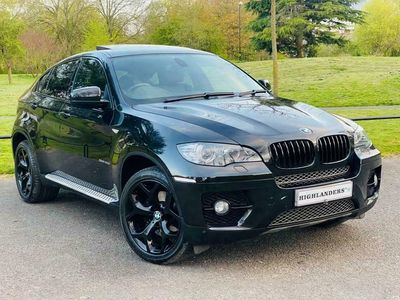 used BMW 502 X6 3.0 XDRIVE40D 4dBHP SUNROOF SAT NAV CAMERA LEATHER [BLACK PACK] SUNROO
