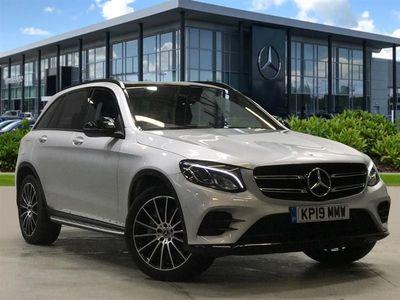 used Mercedes 220 GLC 2019 Walsall Glc4Matic Amg Night Edition 5Dr 9G-Tronic