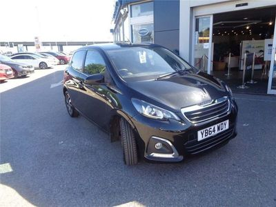 used Peugeot 108 2014 Portsmouth ALLURE
