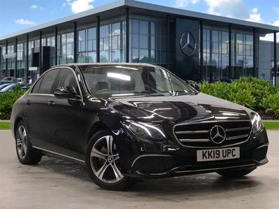 used Mercedes E220 E CLASS 2019 StaffordSe 4Dr 9G-Tronic