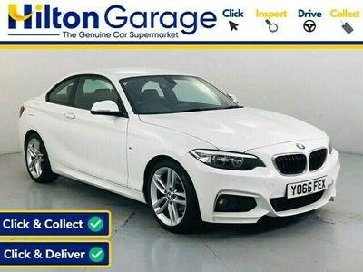 used BMW 218 2 Series 2.0 D M SPORT 2d 148 BHP Coupe 2015