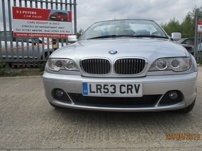 used BMW 330 3-Series Convertible Ci 2d Step Auto (00)