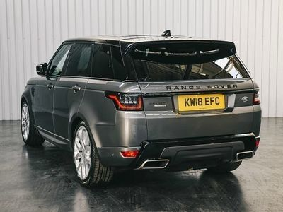 used Land Rover Range Rover Sport 3.0 SDV6 Autobiography Dynamic 5dr Auto SUV 2018