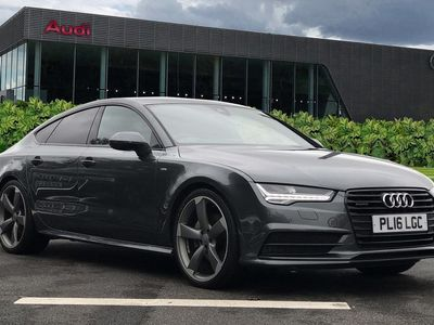used Audi A7 Black Edition 3.0 TDI quattro 272 PS S tronic