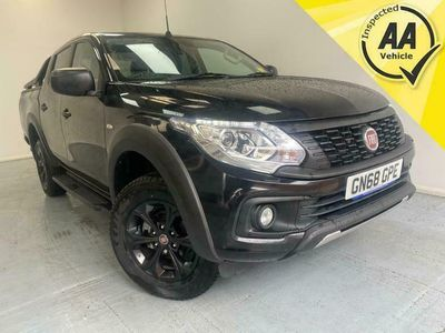 used Fiat Fullback Cross Pick-Up Diesel 4wd 1 Owner Service History Euro 6