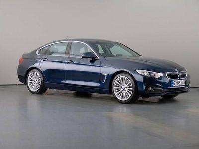 used BMW 420 Gran Coupé 4 Serie d 2.0 Luxury Steptronic Nav 5dr