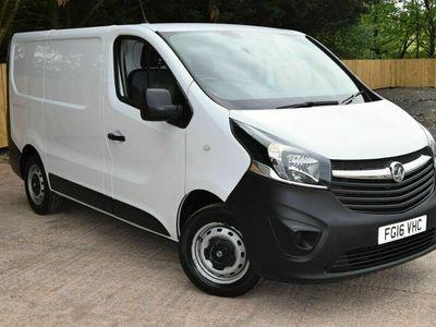 used Vauxhall Vivaro 2700 1.6CDTI 115PS H1 Van