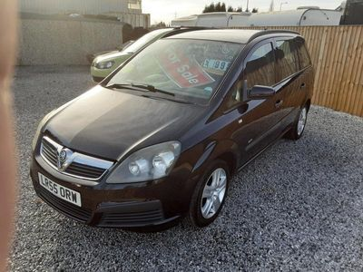 used Vauxhall Zafira Life 1600cc 7 SEATER HATCH-AIRCON-CD-MOT NOV 2021-PX WELCOME 5-Door
