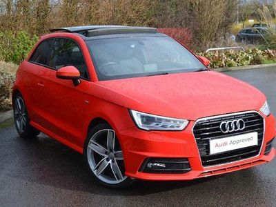 used Audi A1 S line 1.6 TDI 116 PS S tronic