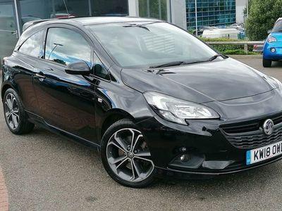 used Vauxhall Corsa New3 Door BLACK EDITION S/S