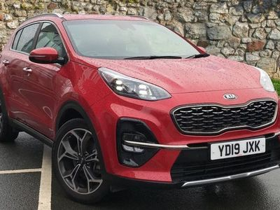 used Kia Sportage 1.6 T-GDi GT-Line DCT AWD (s/s) 5dr