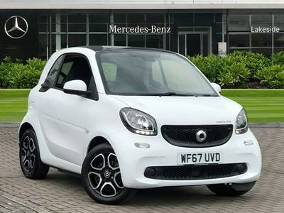 used Smart ForTwo Electric Drive coupe 60kW Prime Premium 17kWh 2dr Auto Coupe 2018