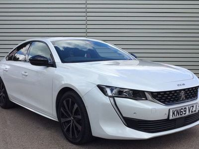 used Peugeot 508 2.0 BlueHDi GT Line Fastback EAT (s/s) 5dr
