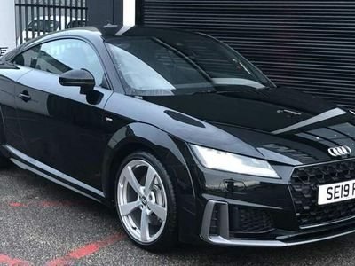 used Audi TT 45 TFSI S Line 2dr S Tronic Auto