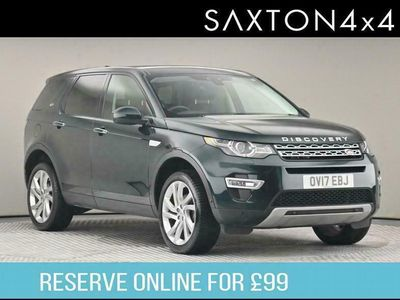 used Land Rover Discovery Sport 2.0 TD4 HSE Luxury Auto 4WD (s/s) 5dr