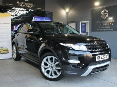used Land Rover Range Rover evoque SD4 DYNAMIC LUX Estate 2012