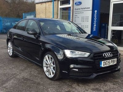 used Audi A3 1.4 Tfsi 150 S Line 4Dr