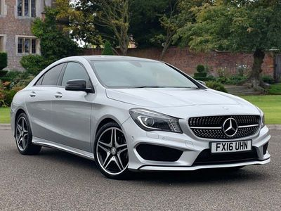 used Mercedes CLA180 CLA ClassAMG Sport 4dr Coupe 2016