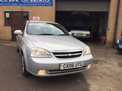used Chevrolet Lacetti CDX 1.8 4dr