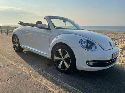 used VW Beetle 2.0 TDI BlueMotion Tech Design Cabriolet (s/s) 2dr