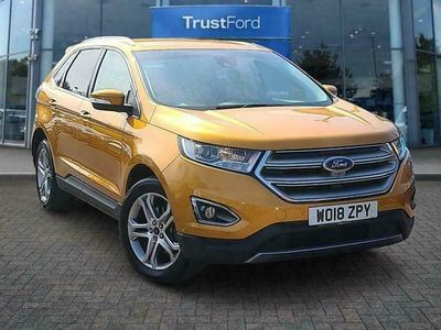 used Ford Edge TITANIUM TDCI With Heated Front Seats 2.0 5dr