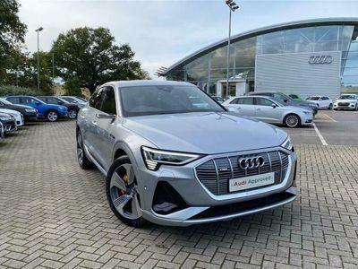 used Audi E-Tron - Sportback S line 55 quattro 300,00 kW