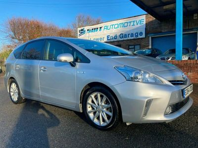 used Toyota Prius+ 1.8 VVTi Excel 5dr CVT Silver 7 Seater