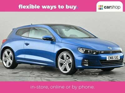 used VW Scirocco 2.0 TSI 180 BlueMotion Tech R-Line 3dr Leather Seats