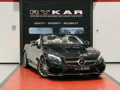 used Mercedes S500 S Class 4.7V8 AMG Line (Premium) Cabriolet G-Tronic (s/s) 2dr