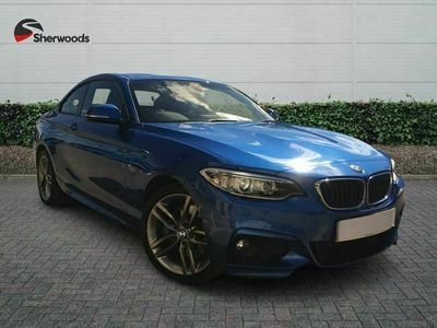 used BMW 220 2-Series Coupe d (190bhp) xDrive M Sport 2d Step Auto
