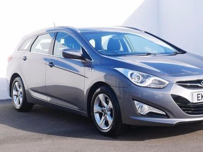 used Hyundai i40 1.7 CRDi [136] Blue Drive Active 5dr Silver Manual Diesel