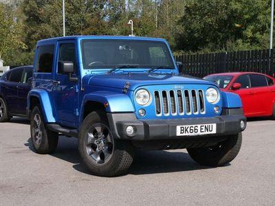 used Jeep Wrangler 2.8 CRD Sahara Auto 4WD 2dr