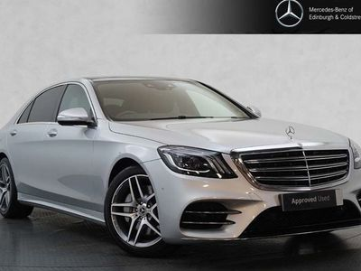 used Mercedes S350 S-Class SaloonD L AMG Line Executive 2.9 4dr
