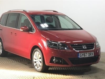 used Seat Alhambra TDI SE 7 - BEST PRICE IN THE UK - COMPARE THIS VALUE !! MPV 2017