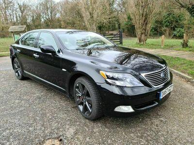 used Lexus LS600h 5.0 L CVT 4dr