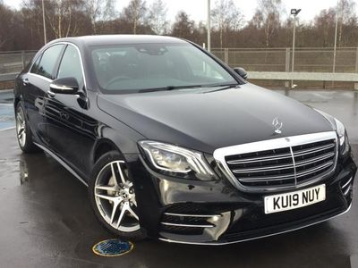 used Mercedes S350 S CLASS DIESEL SALOONL AMG Line Executive 4dr 9G-Tronic