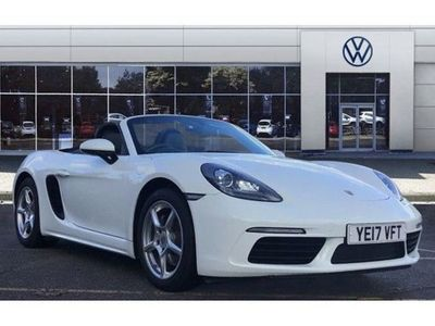used Porsche Boxster 2.0 2dr Petrol Roadster