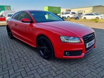 used Audi A5 2.0 TDI S LINE BLACK EDITION 3 DOOR MANUAL DIESEL IN RED