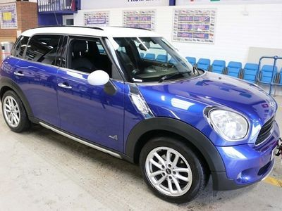 used Mini Countryman 1.6D ALL 4 5 DOOR HATCHBACK (GUIDE PRICE) Hatchback 2014