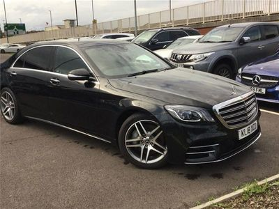 used Mercedes S350 S CLASS 2018 CoventryL AMG Line Executive 4dr 9G-Tronic